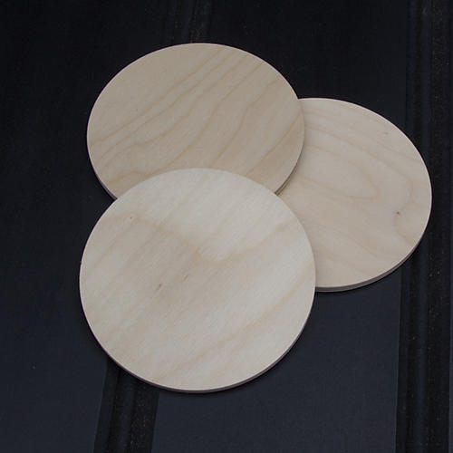 Birch Plywood Coasters