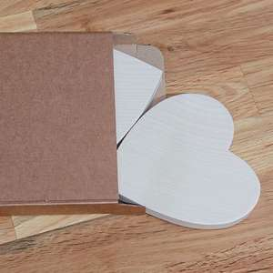 pack of 2 Sycamore Heart Shapes
