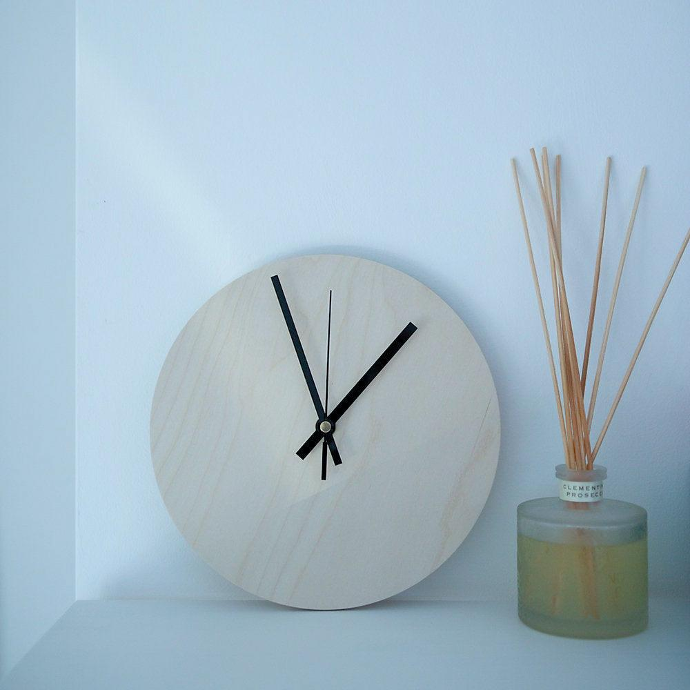 Dalescraft Birch Plywood round clock blank kit