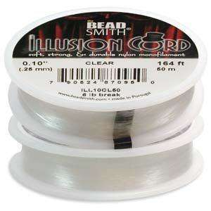 Illusion Cord - Transparent 0.25mm - 50m