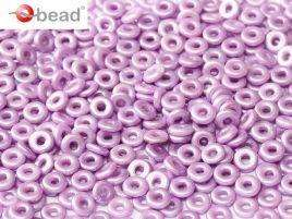 2x4mm O Bead in Pastel Lila