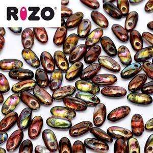 2.5x6mm Rizo Bead in Magic Wine