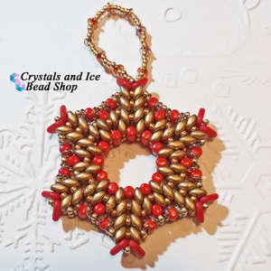 Christmas Star - Tree Ornament (Clancy)
