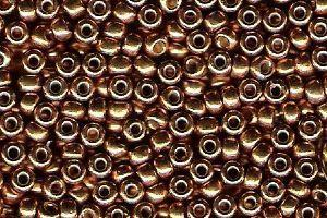 Miyuki Seed Beads 8/0 in Yellow Gold Duracoat Galvanised
