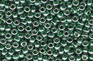 Miyuki Seed Beads 8/0 in Dark Mint Green Duracoat Galvanised