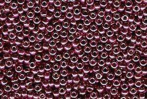 Miyuki Seed Beads 15/0 in Light Cranberry Duracoat Galvanised