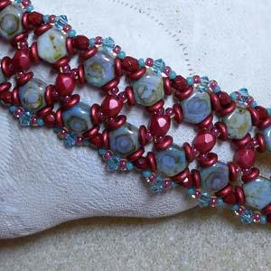 Honey Of A Bracelet Pattern by Marcia Balonis