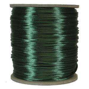 2mm Satin Cord - Green