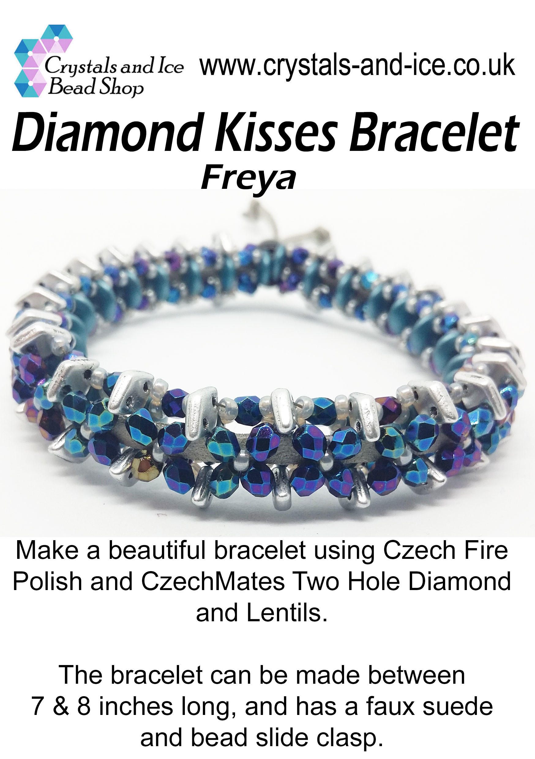 Diamond Kisses Bracelet Kit - Freya