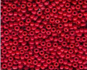 Miyuki Seed Beads 6/0 in Dark Red Opaque
