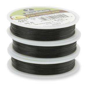 7 Strand Beadalon Stringing Wire 0.018 inch (93m) - Black
