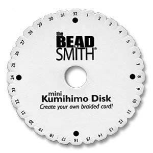 4.25 Inch Round Kumihimo Disc with Instructions