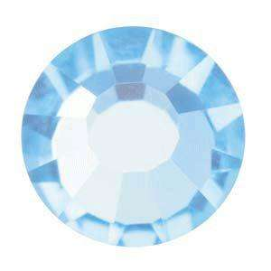 ss7 (2.2mm) Preciosa Flatbacks (40 pcs) in Aquamarine