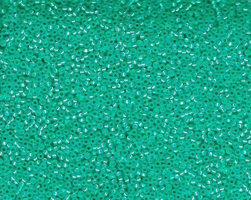 Miyuki Seed Beads 15/0 in Bright Aqua Trans. Silver Lined