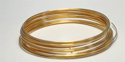 0.2mm Gilt Plated Wire 25m