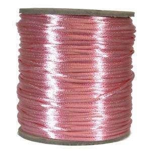 2mm Satin Cord - Pink