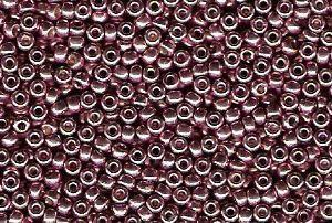 Miyuki Seed Beads 11/0 in Dusty Orchid Duracoat Galvanised
