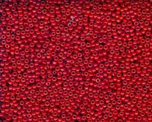 Miyuki Seed Beads 11/0 in Red Opaque