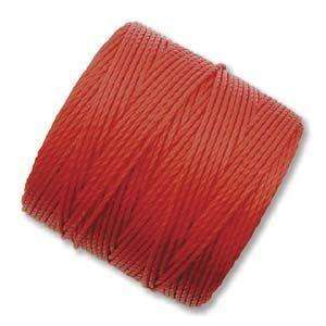 SinLon Bead Cord in Shanghai Red