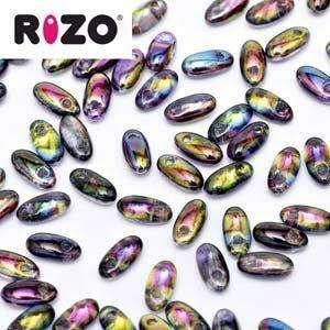 2.5x6mm Rizo Bead in Magic Purple