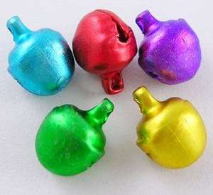 8x10mm Iron Bells in Mixed Colour