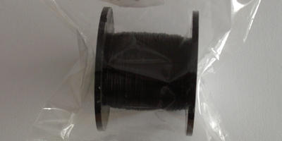 0.2mm Black Coloured Wire - 125m