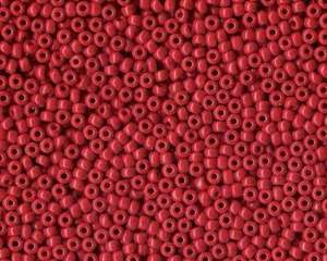 Miyuki Seed Beads 8/0 in Dark Red Opaque