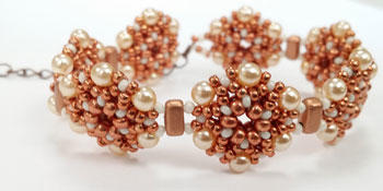 Beading Pattern - Hexagon Bracelet