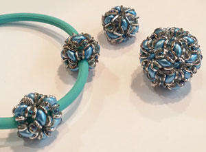 SuperDuo and O Bead Beaded Bead Pattern