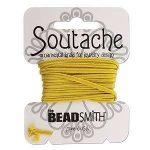 Rayon Soutache Braid - Goldenrod (3 yards)