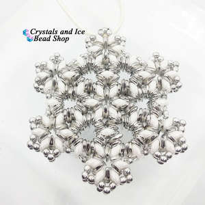 Christmas Snowflake Ornament Kit