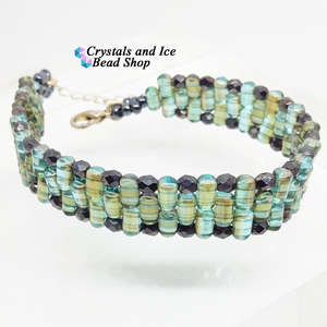 Jacobs Ladder Bracelet Kit - Aqua Celsian