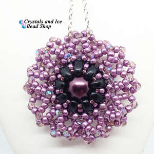 Lotus Flower Pendant Kit - Twilight