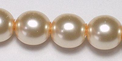 6mm Czech Glass Pearl in Pink