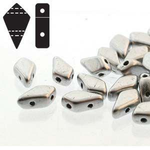 Two Hole Kite Beads in Bronze Aluminium
