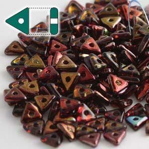 4.6x3.1mm Tri Bead in Magic Wine
