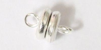 6mm Magnetic Clasp in Silver Plated