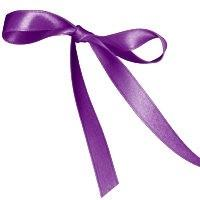 11mm Double Satin Safisa Ribbon in Orchid
