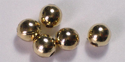4mm Round - Gold Plated