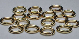 4mm Jump Ring in Gold Plate