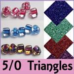 Miyuki 5/0 Triangle Beads now in stock