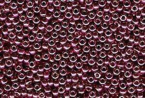 Miyuki Seed Beads 11/0 in Light Cranberry Duracoat Galvanised