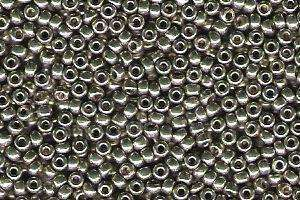 Miyuki Seed Beads 11/0 in Light Smoky Pewter Duracoat Galvanised