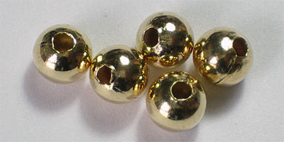 6mm Round - Gold Plated