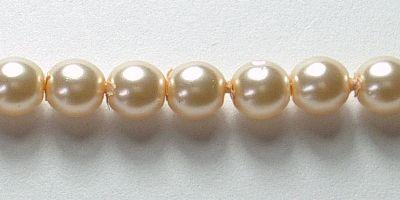 4mm Czech Glass Pearl in Pink