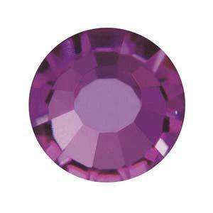 ss7 (2.2mm) Preciosa Flatbacks (40 pcs) in Amethyst
