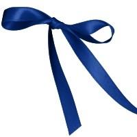 11mm Double Satin Safisa Ribbon in Royal Blue