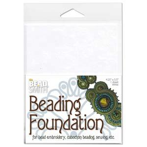 BeadSmith Beading Foundation - White (4.25x5.5 Inch Sheet)
