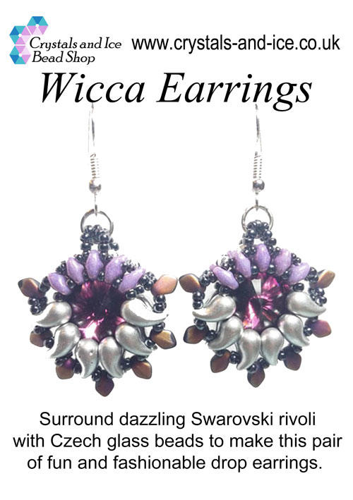 Wicca Earrings Kit