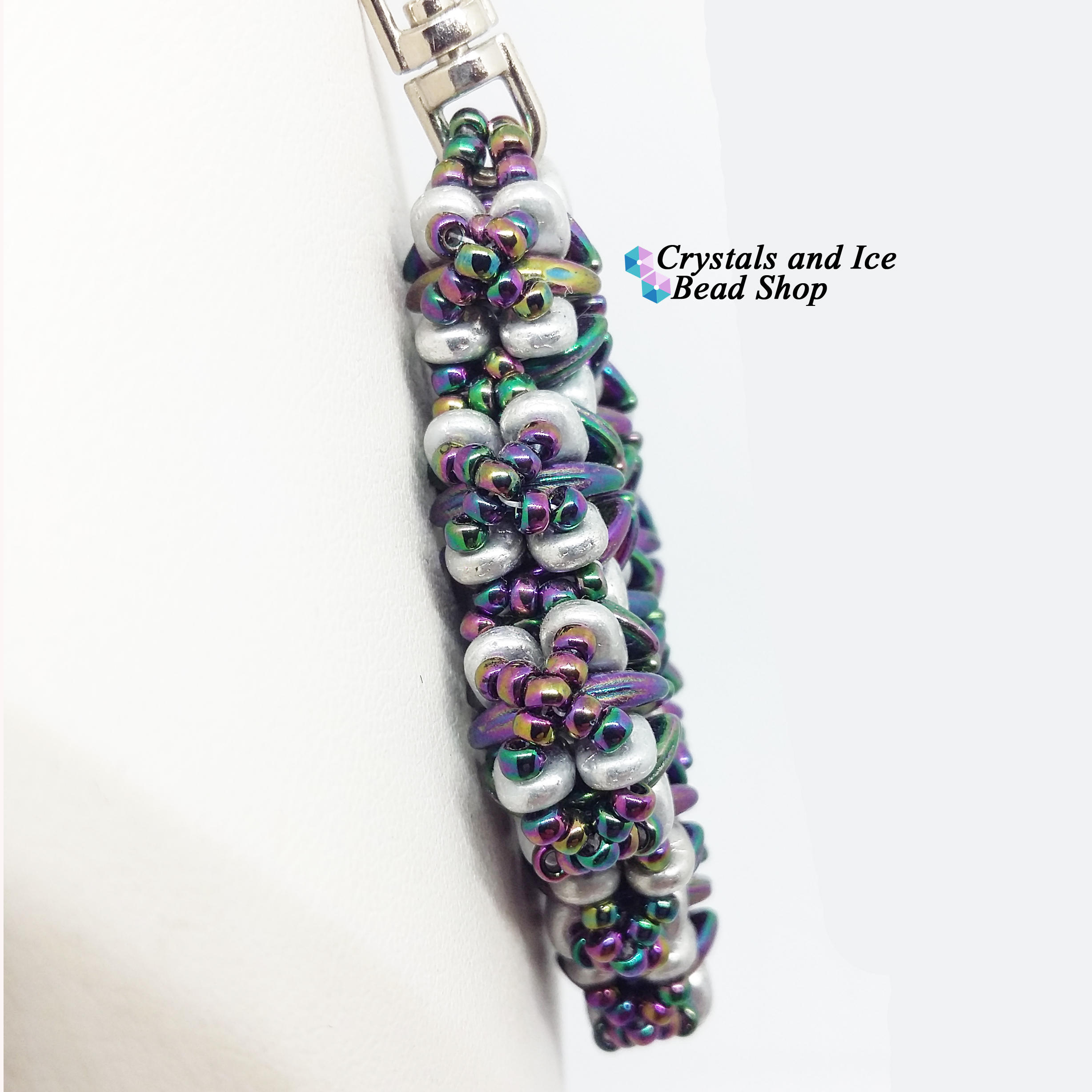 Archetype Pendant Kit - Purple Iris and Silver